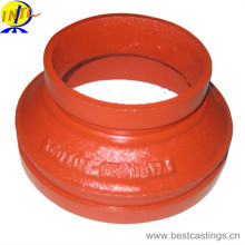 Ductile Iron Grooved Fitting Reducer für Feuerbekämpfung