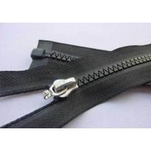 Cool style nice exposed long plastic zipper for bags