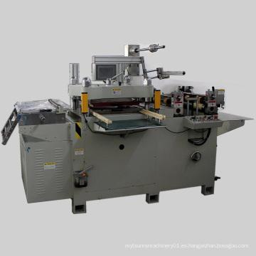 Máquina de troquelado de rotulación de rollo a rollo (DP-320B)