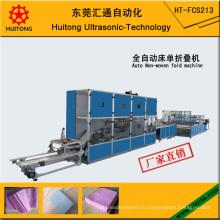 Machine à plier non-tissée de drap automatique