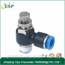 China acessórios de controlador de velocidade pneumática de plástico