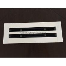 Difusor de ranura lineal de aire de suministro de ventilación de sistemas HVAC