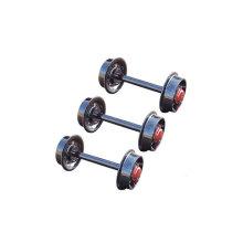 Jeu de roues de 350 mm pour l'utilisation de la mine