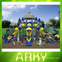 Équipement de jeu pour tout-petits Matériel de terrain de jeu extérieur Bule / structure de parc