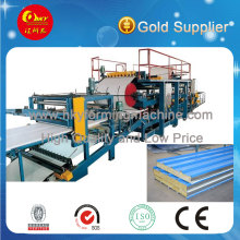 EPS and Wool Sandwich Roll Forming Machine