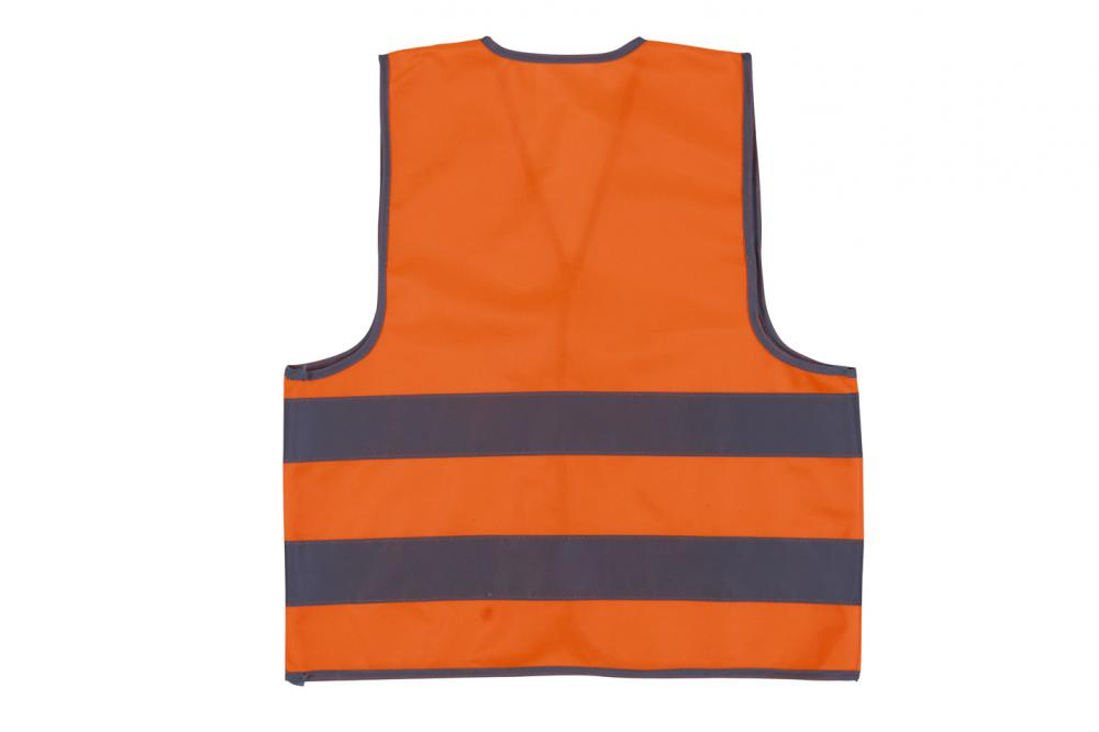 Green color reflective safety vest for kids