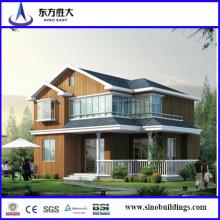Luz Villa de aço, estrutura de aço leve House, House Villa