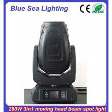 2015 Nova luz de lavagem de spot de feixe 10R 280w