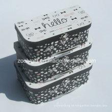 Maletín de papel de cartón / Caja de embalaje de regalo de papel al por mayor