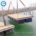 floating box pontoon cube floating platform bridge
