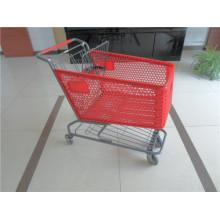 High Quality Plastic Shopping Trolley