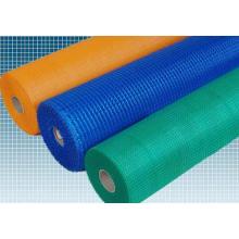 Malha de fibra de vidro PE 80g cor azul