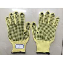 Kevlar Double Side PVC Dotted Gloves