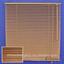 2015 privacidad venecianas de madera persianas de madera falsa