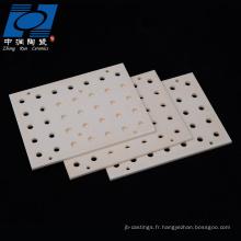 Plaques en céramique résistantes à l'usure pour la combustion