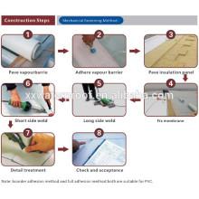 Die meisten professionellen Lieferanten verstärkte PVC wasserdichte Membran