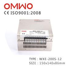 Fuente de alimentación de conmutación barata Wxe-200s-12