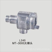 Aluminium-Druckgussbeleuchtung Teil mit CNC-Bearbeitung Finish zugelassen ISO9001: 2008, SGS, RoHS