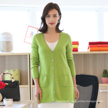 Ladies Fashion Cardigan with Button