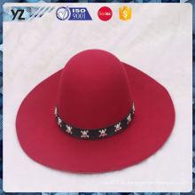 Venta de fábrica de larga duración mujer sombrero listo en stock para 2016