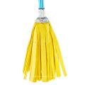China Manufacturer Whole Set Yellow Round Strip Wet Mop/Round Mop Head