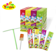 Sweet Ice Cream Lollipop With Bamboo Dragonfly Toy