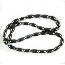 Hematite Rice Beads 6X12MM,Grade A&40CM