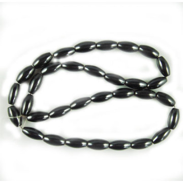 Hematite Rice Beads 6X9MM,Grade A&40CM