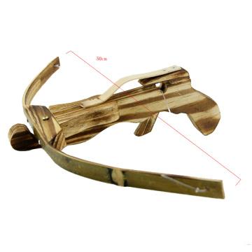 arbalète de chasse en bois en gros avec des flèches