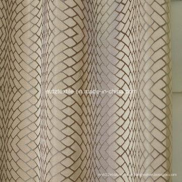 2016 Polyester Twisted Garn Vorhang Stoff