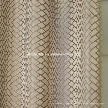 2016 Polyester Twisted Yarn Curtain Fabric