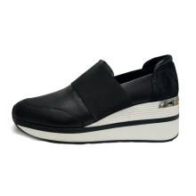 Chaussures de sport en cuir à talons hauts