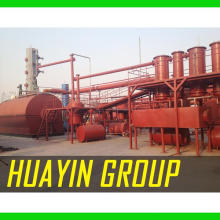 Xinxiang HuaYin Renewable Energy Equipment True Manufacturer 8 Years Crude Oil Distillation Diesel Machine