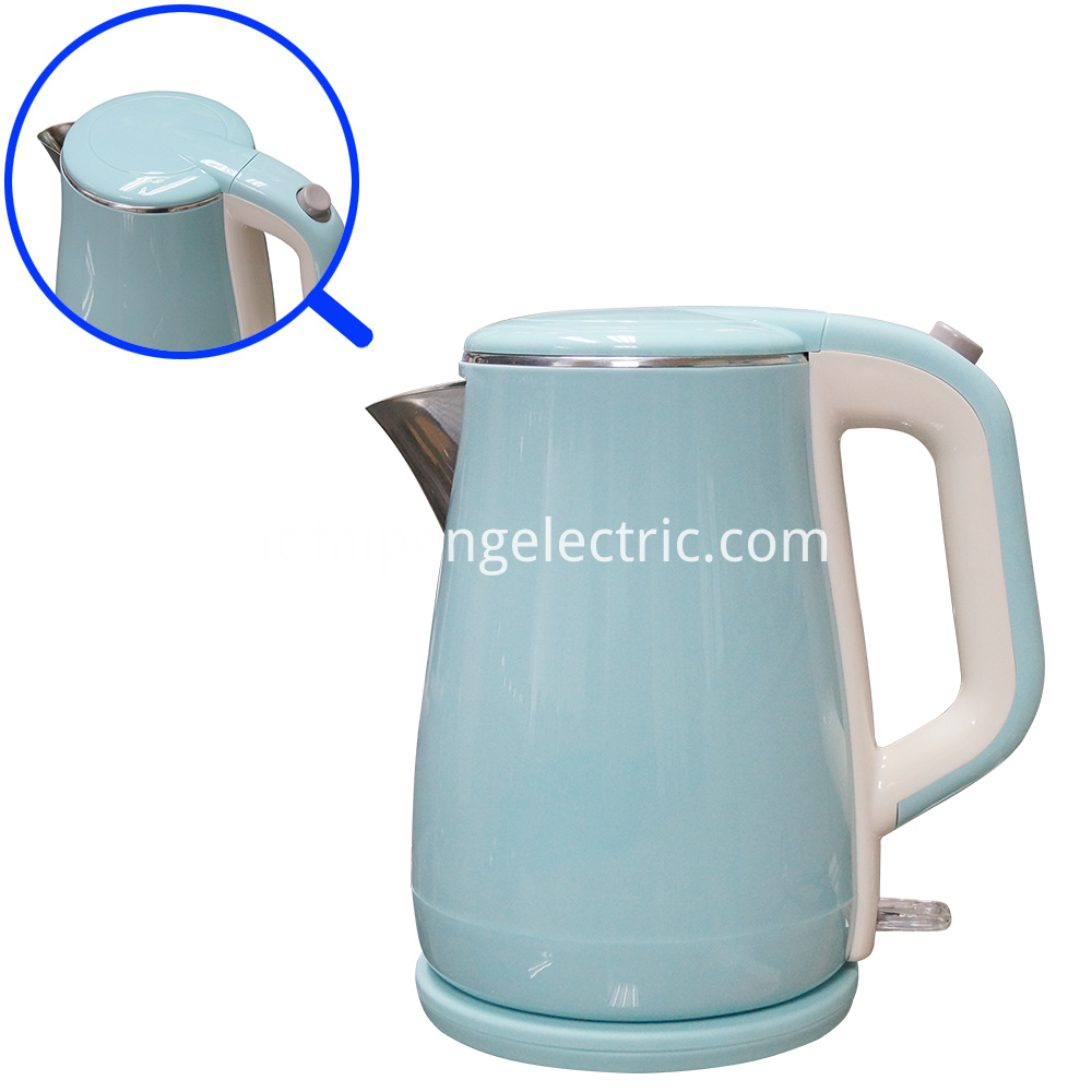 Colored Plastic Part Water Kettle