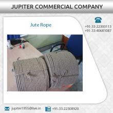 Langes haltbares Material hergestelltes Jute-Seil vom Spitzenlieferant zu den niedrigsten Kosten