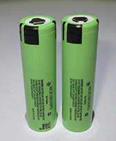 flashlight with camera battery NCR18650PD battery CELL