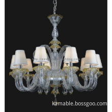 Decorative modern glass pendant Lights(81115-10)