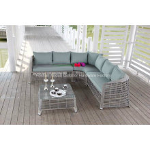 Outdoor Garden Rattan&Wicker Corner Sofa Set