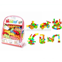 Blocs de construction de Eva 138pcs / mousse Funny Toys blocs / blocs de construction en mousse EVA
