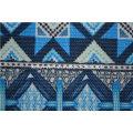 Printed Design Anti Slip gebürstetes Sofa Stoffbezug