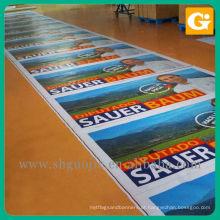Bandeiras da propaganda da eleição pôsteres