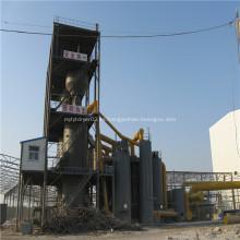 Gas de síntesis del gasificador de carbón