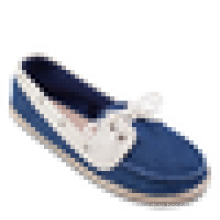 Canvas casual shoe lace up women's shoe summer boats shoe