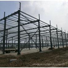 Edificio prefabricado de la casa de acero de la resistencia caliente