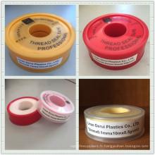 Ruban en PTFE à haute température / bande de téflon à bas prix