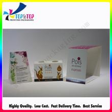 Boîtes de conditionnement de cadeaux en papier revêtu pour la fête des mères
