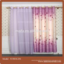 Derniers modèles de rideaux 2015 rideau de coton égyptien à chaud en design pour salon