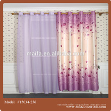 Latest curtain designs 2015 hot sale egyptian cotton curtain design for living room