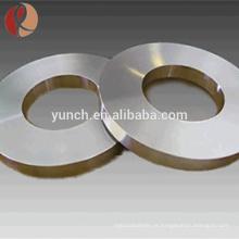 Alta qualidade Gr1 Gr2 titânio anel de solda tipo curto