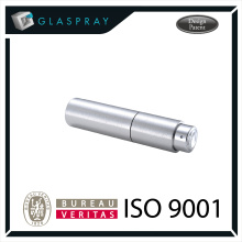 KIRA CNC 20ml Alliage d'aluminium Twist up Refillable Cologne Travel Spray